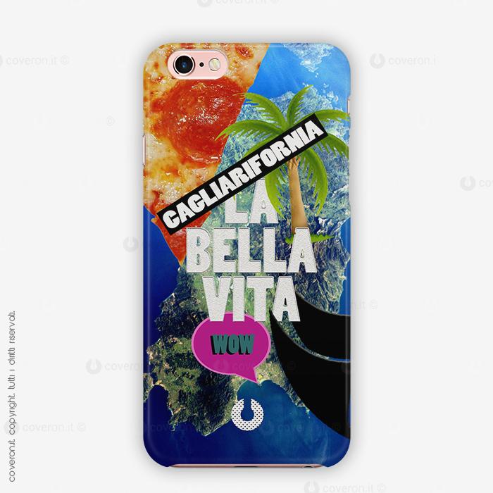 Cover Saluta Andonio LA BELLA VITA IN CAGLIARIFORNIA, VELE E PIZZA WOW